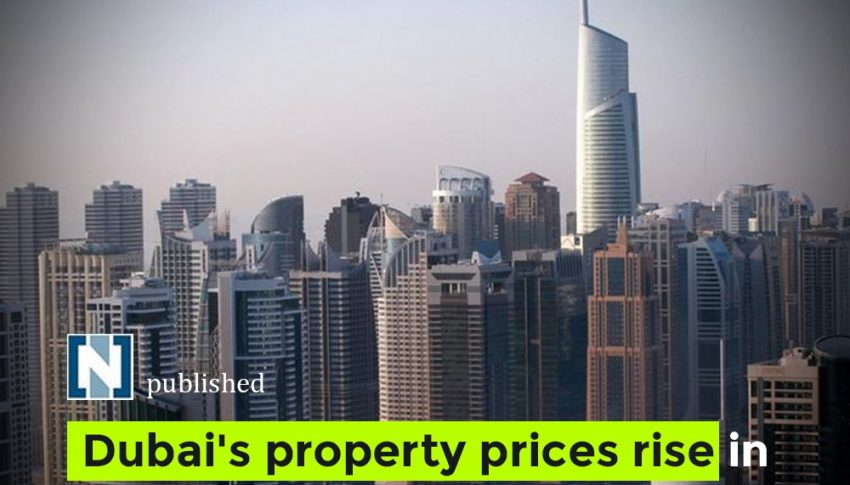 Dubai's property prices rise in Q1 as economic outlook improves amid vaccine roll-out.