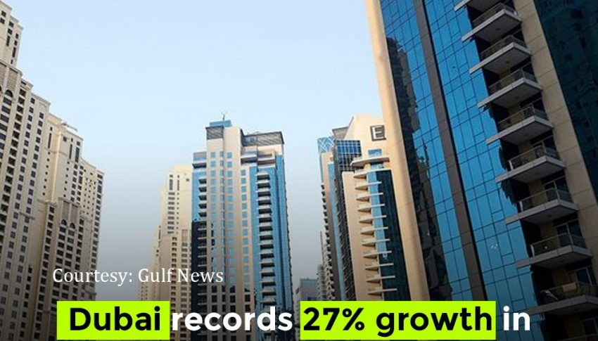 Dubai Records 27% growth in real estate transactions in Q1 2021.